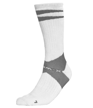 X-Wrap Basketball Socks White/Grey