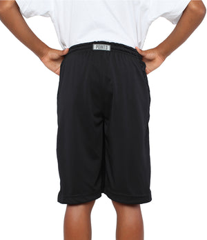 Youth DRYV Baller 2.0 Basketball Shorts - Triple Black - Back