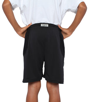 Youth DRYV Baller 3.0 Basketball Shorts - Black - Back