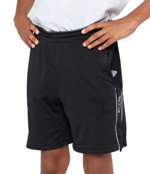 Youth DRYV Baller 3.0 Basketball Shorts - Black - Front
