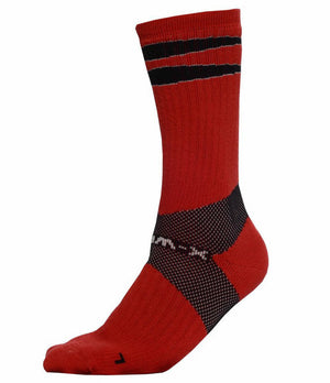 X-Wrap Basketball Socks Red/Black