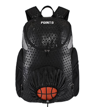 Road Trip 2.0 Basketball Back Pack - Black - Front