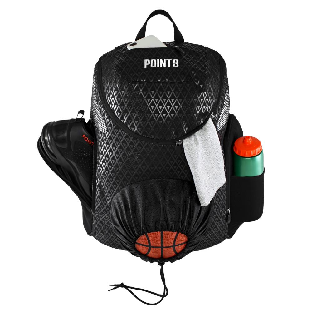 78eefff2f7 Road Trip 2.0 Basketball Backpack - POINT 3 Basketball