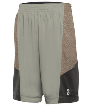YOUTH DRYV® UNIFORM SHORTS Triple Grey
