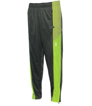DRYV Unisex Basketball Warm-Up Pants 2.0 - Grey/Green Flash