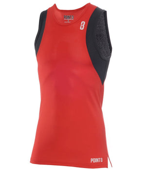 Youth BASE LT - Lightweight Base Layer Red/Charcoal