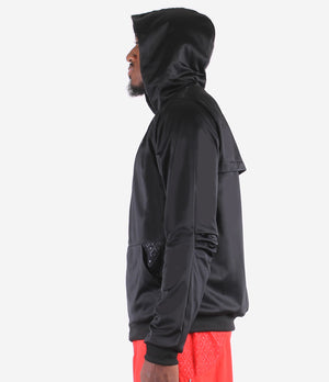 DRYV 2.0 Unisex Hoodie Black/Left Side