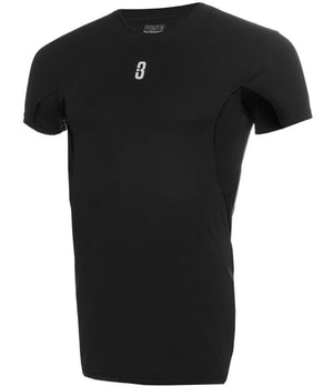Youth ISO Compression Basketball Shirt - Black