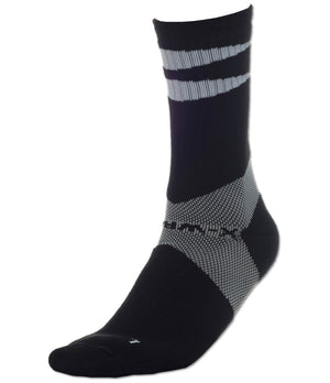 X-Wrap Basketball Socks Black/White