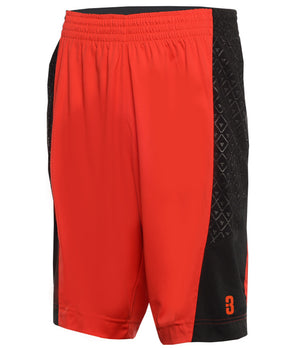 YOUTH DRYV® UNIFORM SHORTS Red/Black