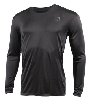 YOUTH SHOOTAROUND - Long Sleeve Shooting Shirt Black