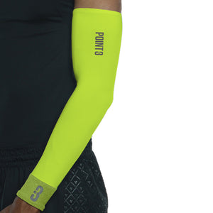 Shooter LT Unisex Lightweight Compression Shooting Sleeve - Neon/Green Flash