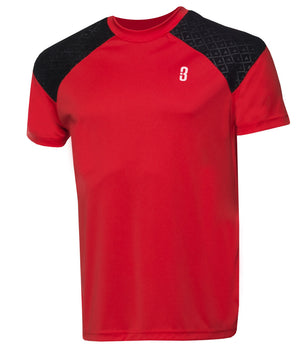 Youth Snyper 2.0 Lightweight DRYV Basketball Shirt - Red/Black