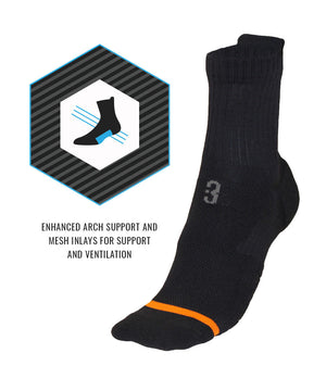Impact Mid Basketball Socks