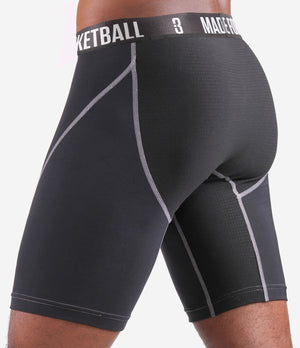 BASE Compression Shorts - Black (Side)