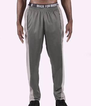 DRYV Unisex Warm-Up Basketball Pants 2.0 - Grey/Front