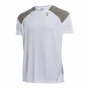 Snyper 2.0 Unisex Lightweight DRYV Basketball Shirt - White/Grey