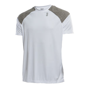 Youth Snyper 2.0 Lightweight DRYV Basketball Shirt - White/Grey