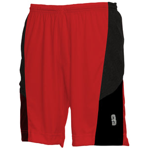 DRYV® WOMEN'S BASKETBALL SHORTS Red/Black