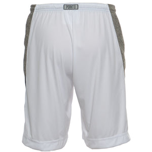 DRYV® WOMEN'S BASKETBALL SHORTS White/Grey - back
