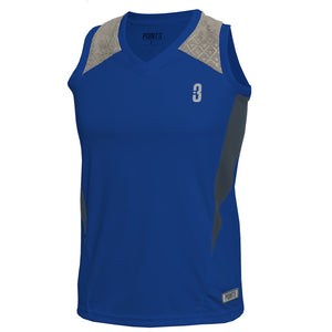 DRYV® WOMEN'S BASKETBALL TOP Blue/Grey