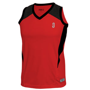 DRYV® WOMEN'S BASKETBALL TOP Red/Black