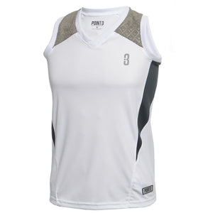 DRYV® WOMEN'S BASKETBALL TOP White/Grey