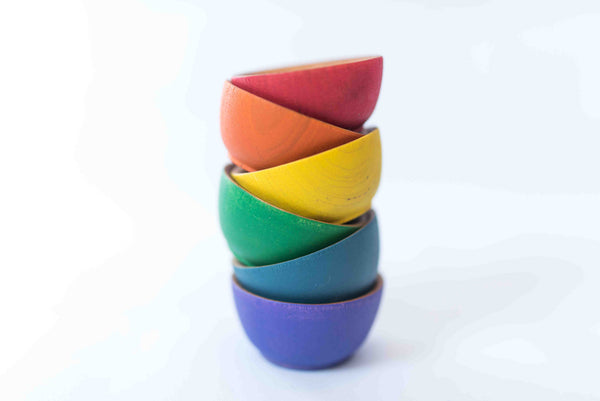 Color Sorting Bowls