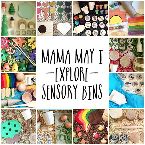 Picture of Mama May i Explore Sensory Bin of the Month Club - Monthly Subscription Kit