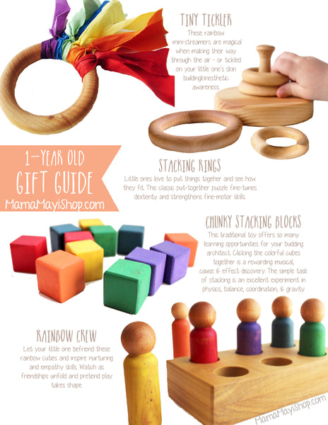 Gift Guide 2 1 Year Old Mama May I Handmade Wooden Learning Toys