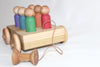 The Rainbow Wagon Boys - Toddler Little People Car Pull Toy