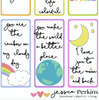 Lunchbox Love Notes - Rainbow Magic - pdf - printable