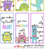 BUNDLE - Rainbow Magic - Forest Friends - Monster - Lunchbox Notes - Love Notes - Printable .pdf