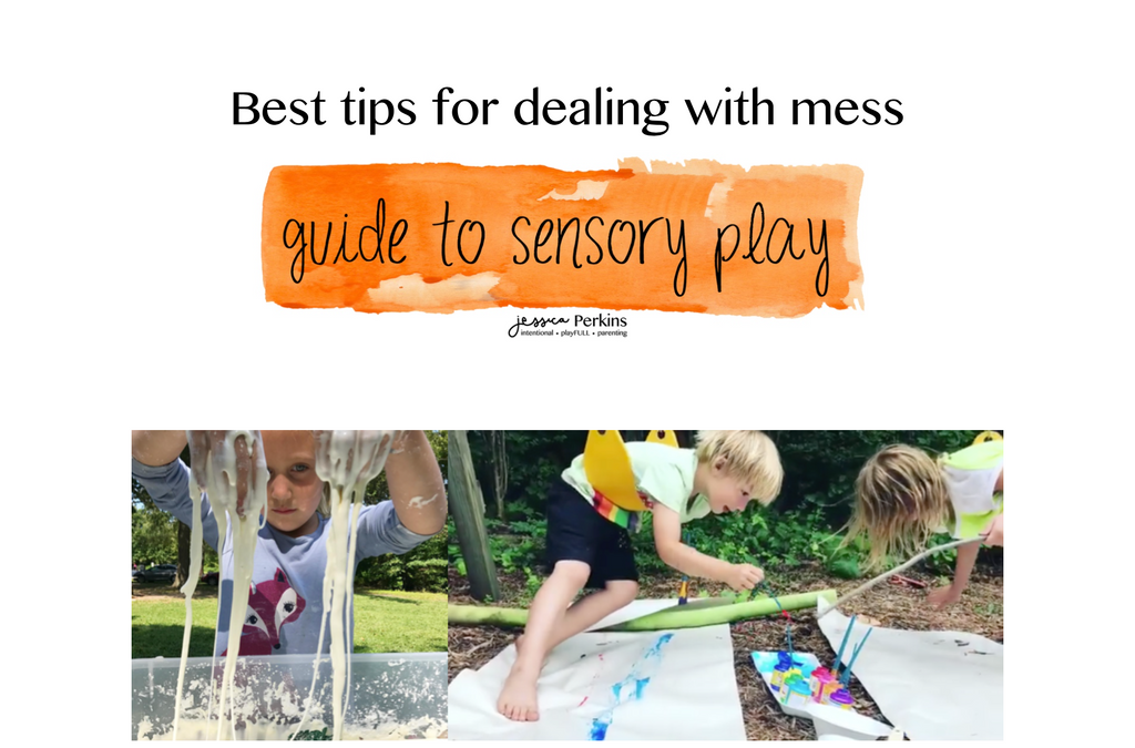 How to Deal with the Mess - Sensory Play