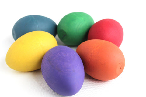 Picture of Wooden Shaker Egg – You Choose the Color
