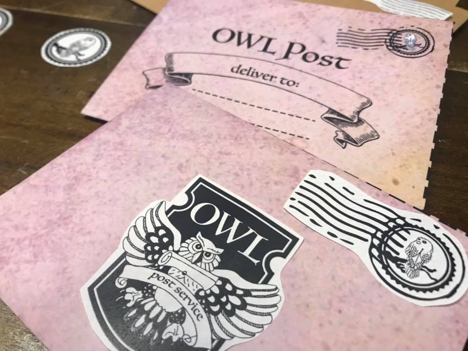 Wizard - Owl Post - Literacy - Writing Printable PDF Pack