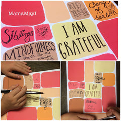 FREE Printable - Gratitude Blurb Journal