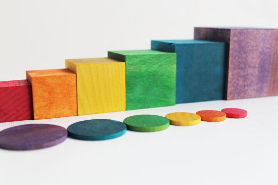 Learning Toy - Cubes & Coins