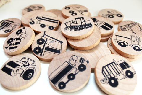 Picture of Make a Match - Toddler - Trucks