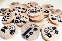 Make a Match - Toddler - Trucks