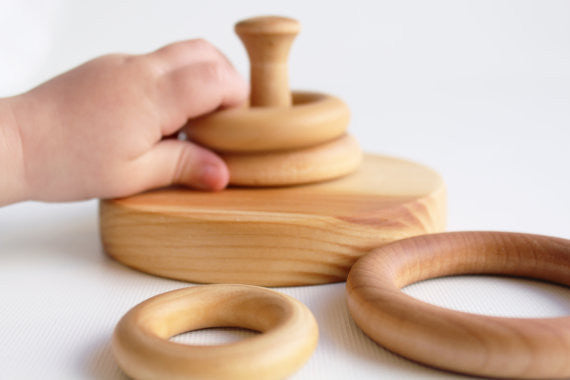 Learning Toy - Stacking Rings