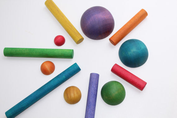 Learning Toy - Sticks And Stones