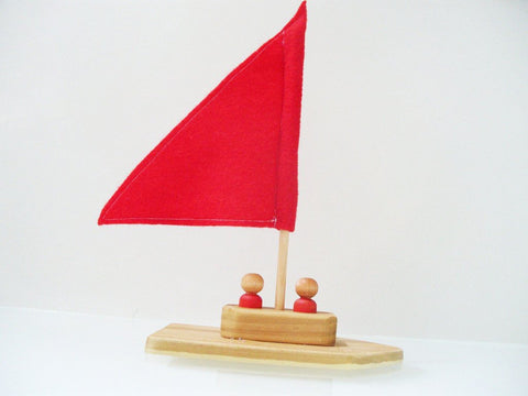 Wooden Toy - Rainbow Regatta