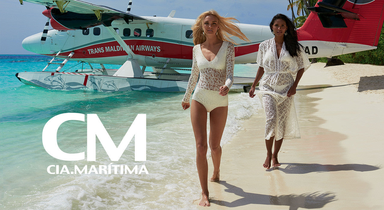 Cm Cia Maritima beachwear is distributed by Style West