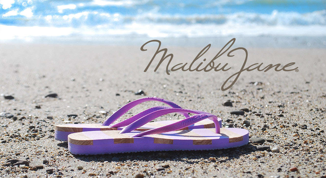 Malibu Jane flip flops owned and designed by Style West