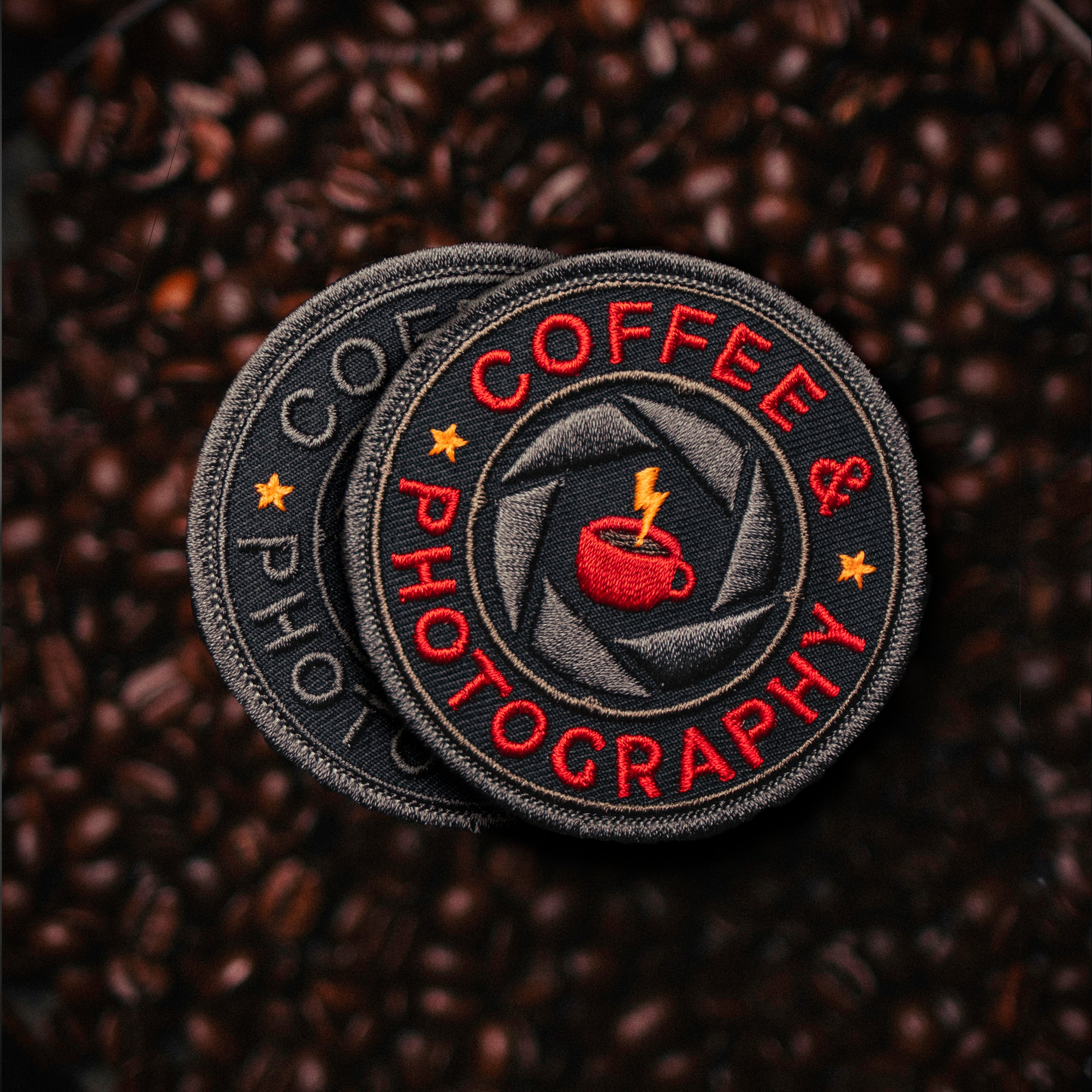 Coffee & Photography patches