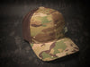 Hat - MultiCam® Standard snap back - Custom patch panel - low profile