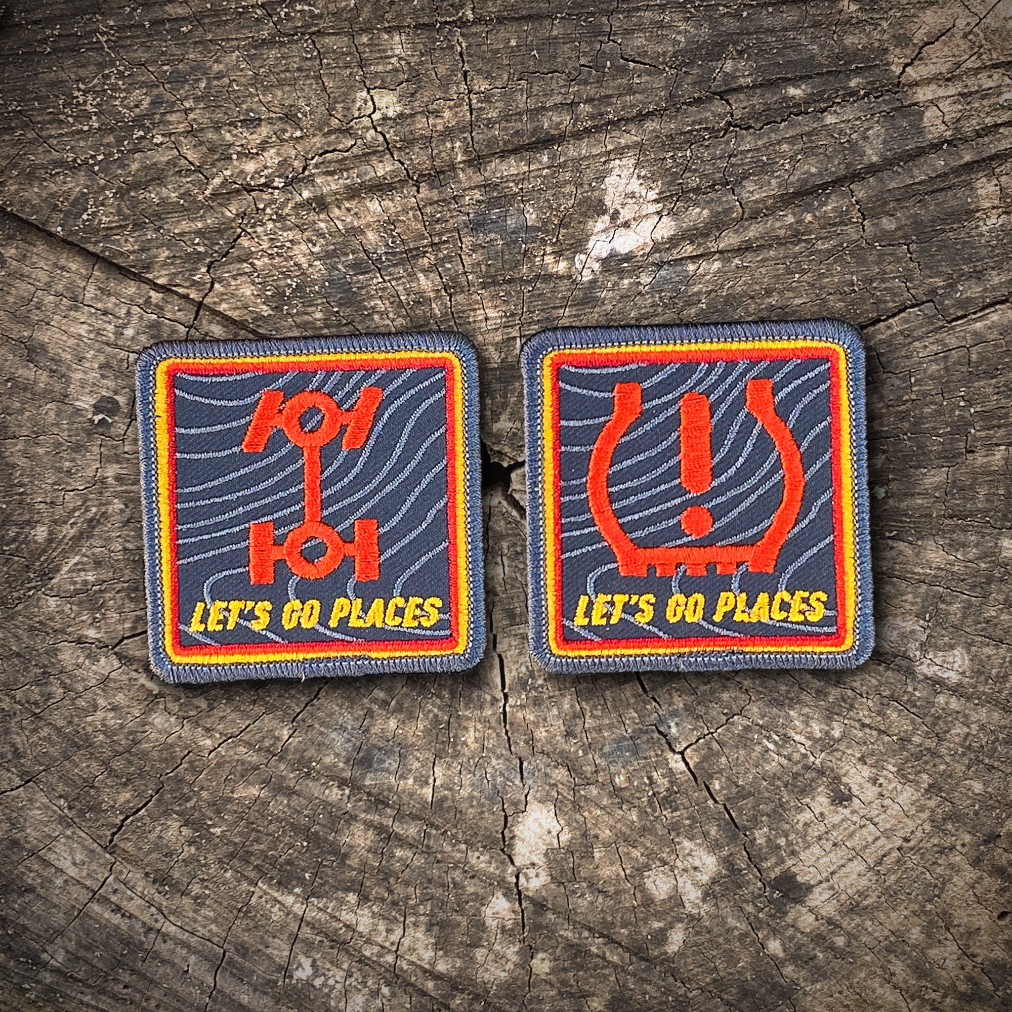 "TOYOTA / OFF-ROAD PATCH SET ""Nod to Ivan Stewart"""
