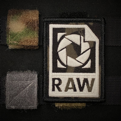 Molle panel morale patch loops