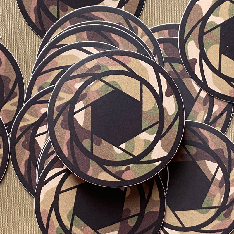 "SL / SP Camo ""MC STD"" STICKER"